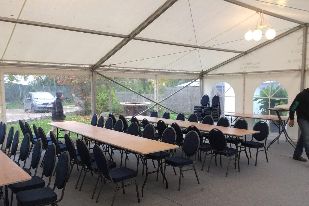 Zelt und Mehr - Tisch Rechteck