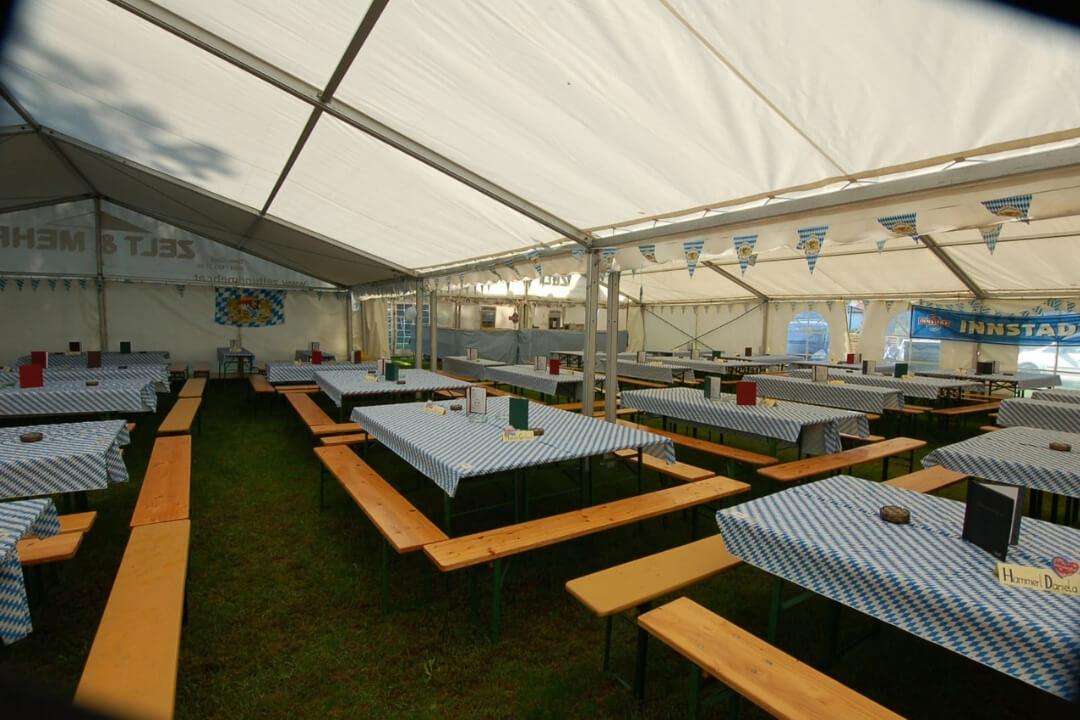Zelt und Mehr - Heurigenmöbel