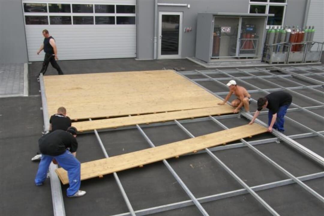 Zelt und Mehr - Systemboden