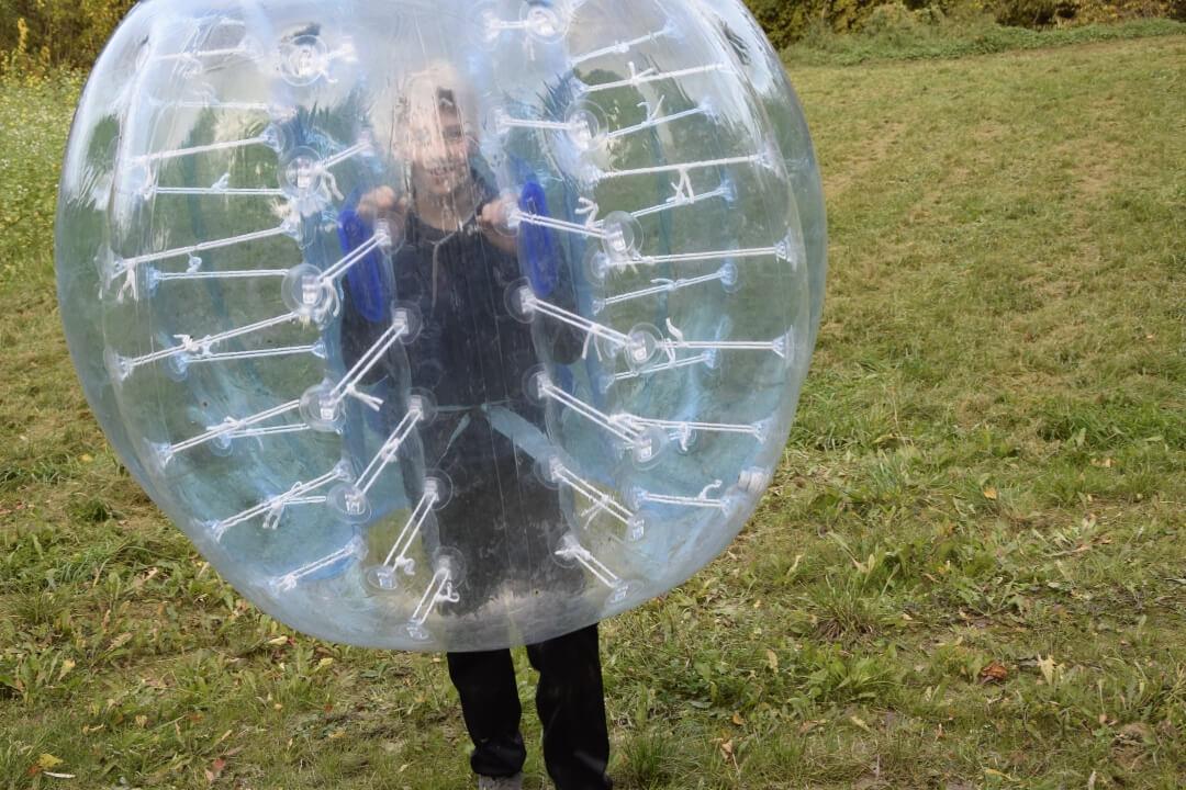 Zelt und Mehr - Soccer-Bubbles